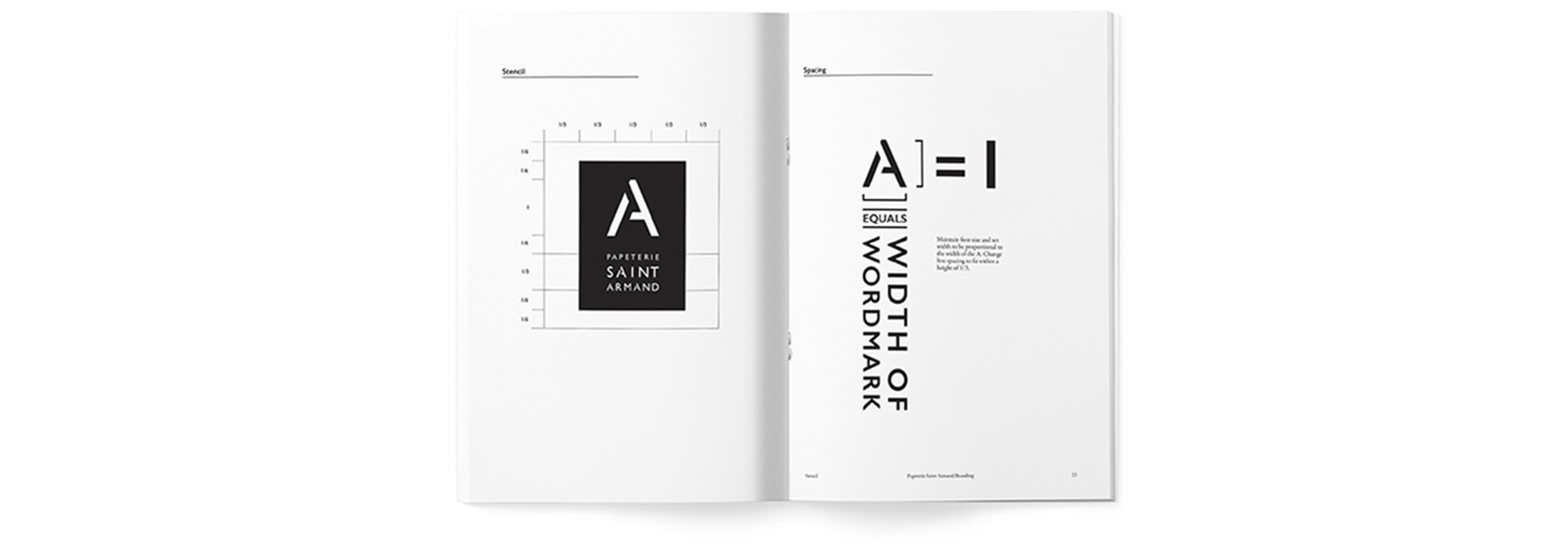 Image of Papeterie Saint Armand Branding