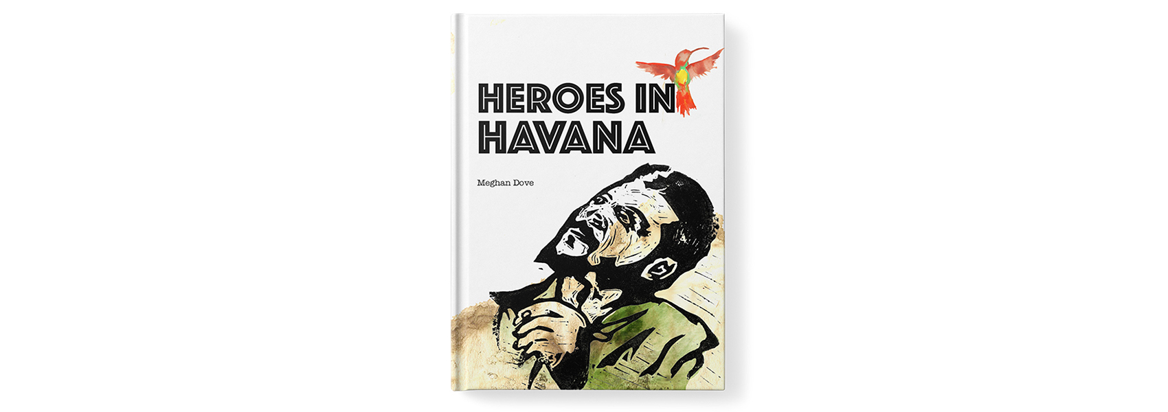 Heroes in Havana book cover design by Meghan Dove